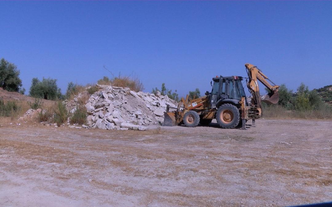 El Ayuntamiento retira más de 640 toneladas de escombros de los arenales