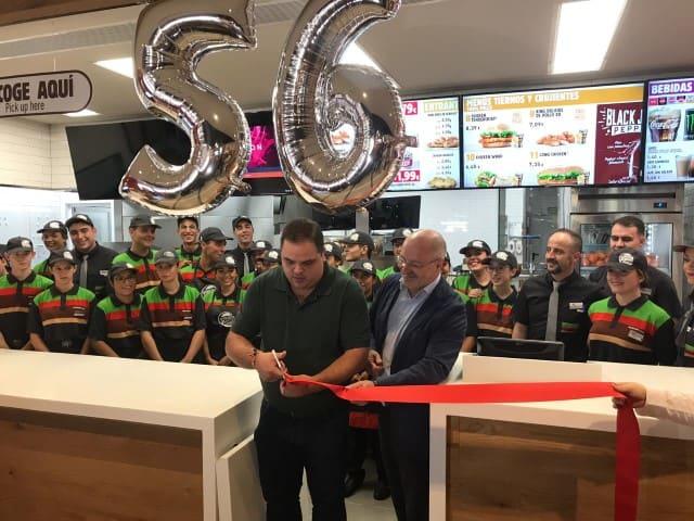 Burger King abre sus puertas en Martos