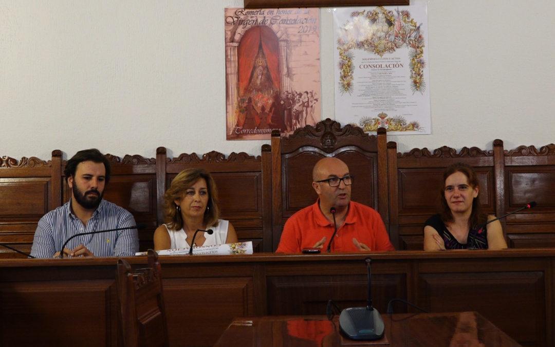 La Cofradía de la Virgen de Consolación y el Ayuntamiento de Torredonjimeno presentan la programación de Romería