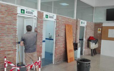 Obras de mejora en la estación de autobuses