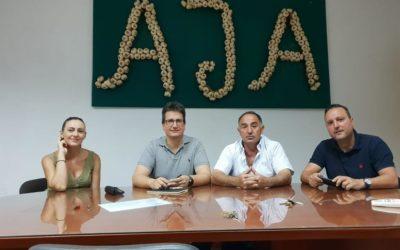 José María Mercado se reunió la pasada tarde del miércoles con la asociación de ajeros
