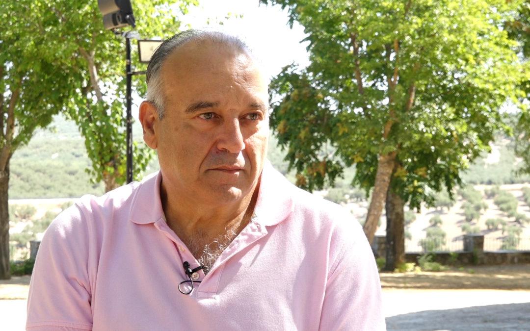 Pablo Moreno prepara un pregón basado en las miradas