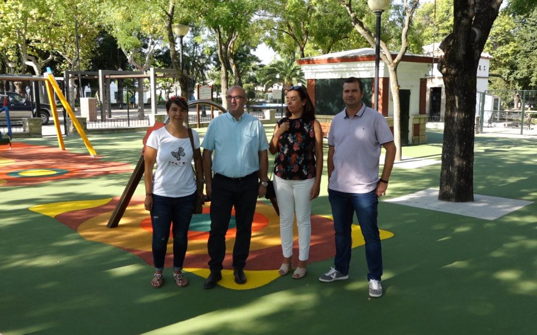 Abre la zona infantil del Parque Municipal de Torredonjimeno