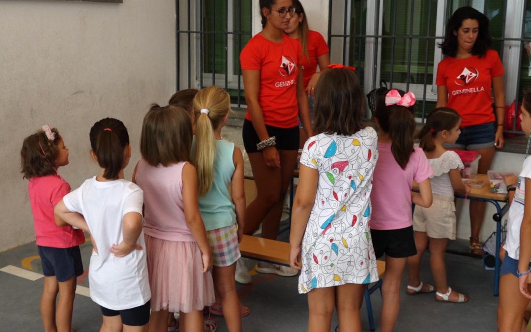 Taller de pintacaras y tatuajes en la Escuela de Verano de Torredonjimeno