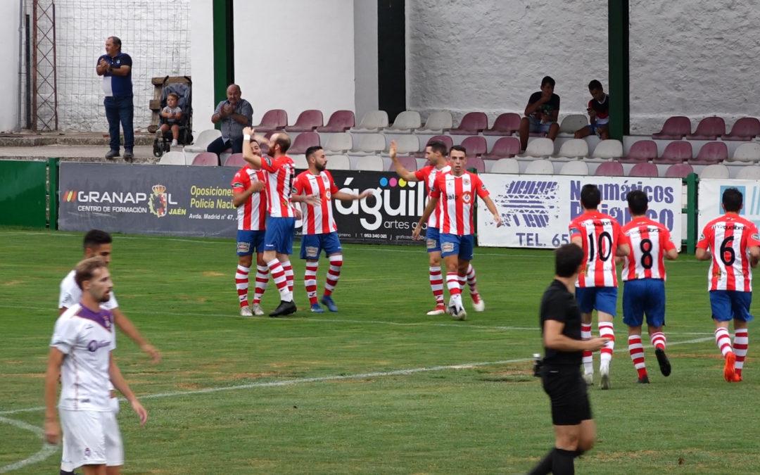 La Unión derrota al Jaén (2-1) en un partido que deja sensaciones para soñar con algo bonito