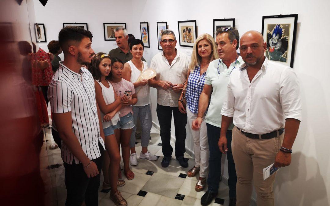 """Inaugurada la exposición """"Galería nº 13"""" del artista arjonero Manu Sáez"""
