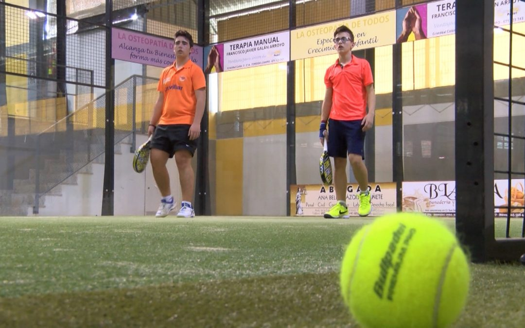 Los socios del Club de Padel Torreolivo comienzan su liga