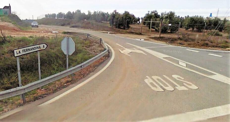 Diputación destina 619.000 euros para reforzar el firme de la carretera de La Fernandina