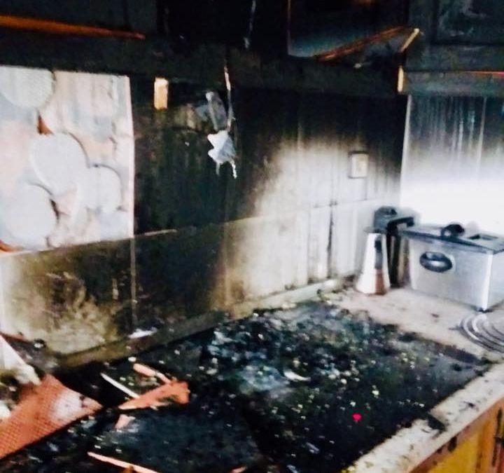 Incendio en Torredelcampo con una persona afectada por inhalación de humo al negarse a salir del domicilio