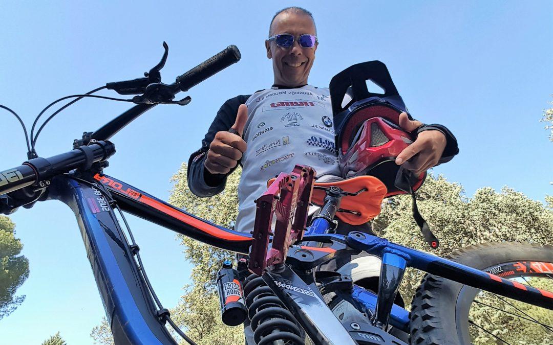 Juanfra López pone rumbo al Mundial de mountain bike más extremo