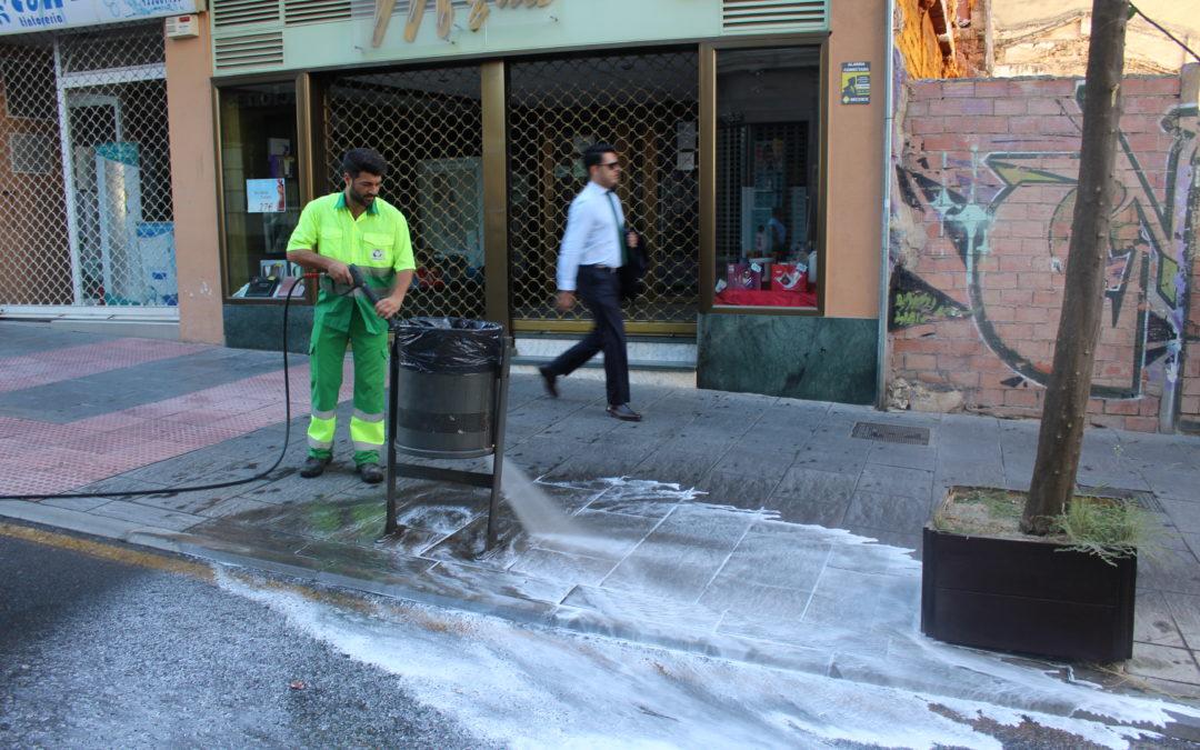 El Ayuntamiento quiere ceder la gestión de la limpieza a la Diputación