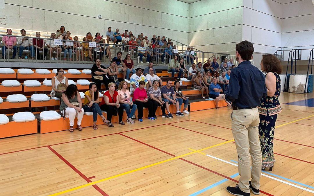 El Ayuntamiento incorpora a 169 parados gracias a los planes de empleo
