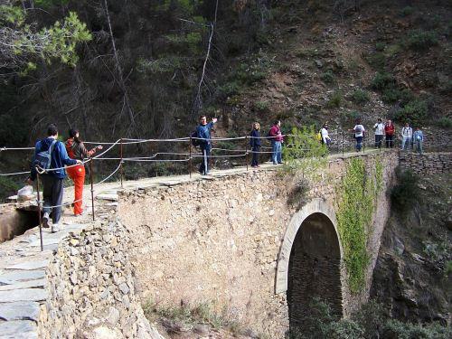 Ruta senderista por la Alpujarra Almeriense