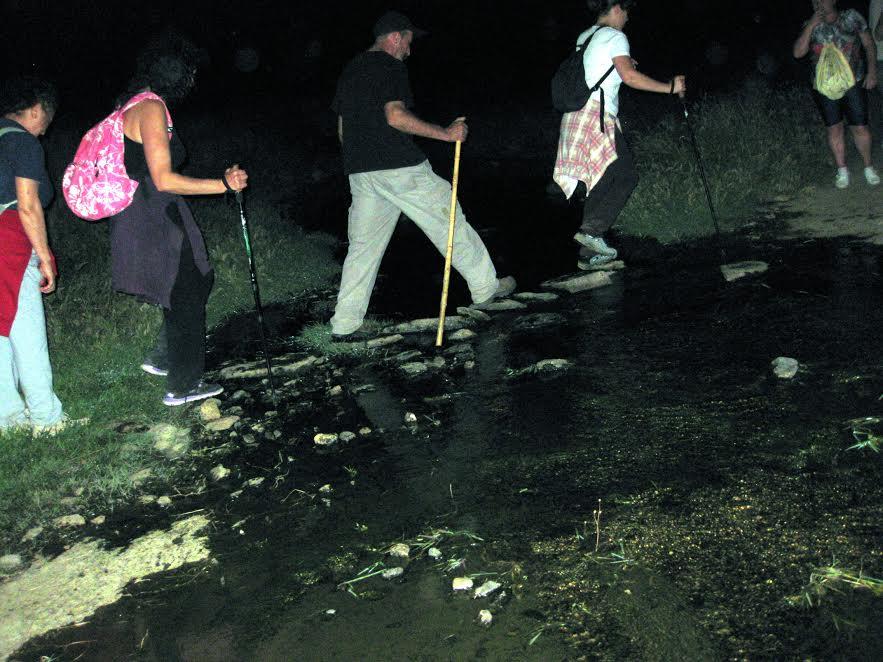 Marcha nocturna a Sierra Ahíllos