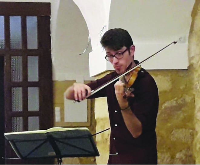 Concierto estival para violín y piano