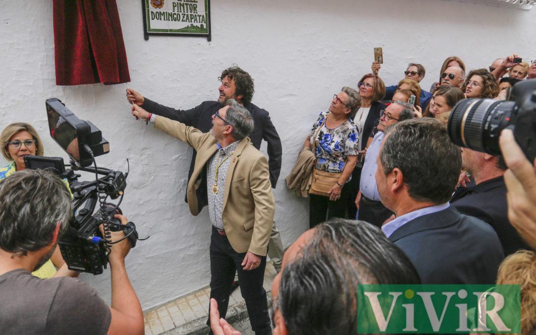 Domingo Zapata ya tiene su calle en Alcaudete