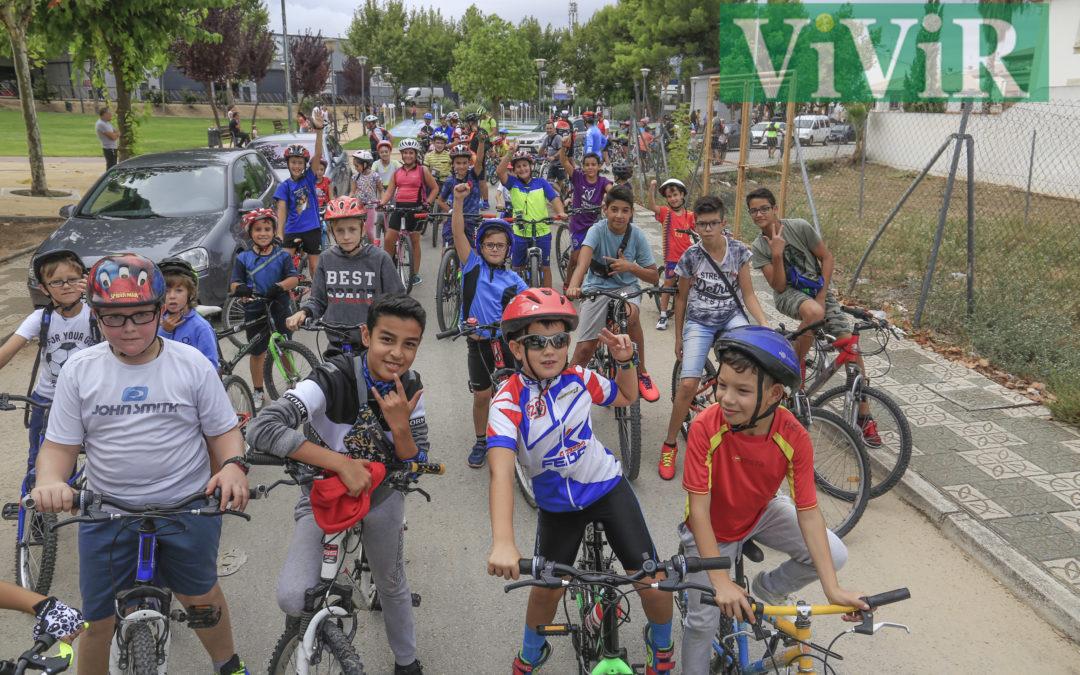 Una mañana para pedalear en familia