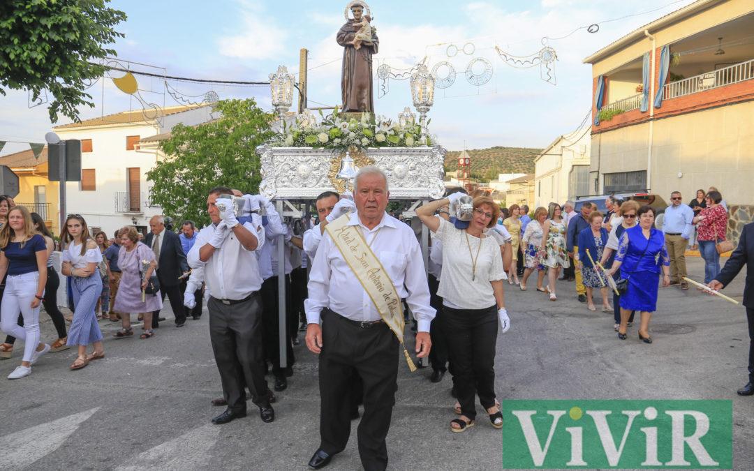 San Antonio procesionará mañana en Ventas del Carrizal