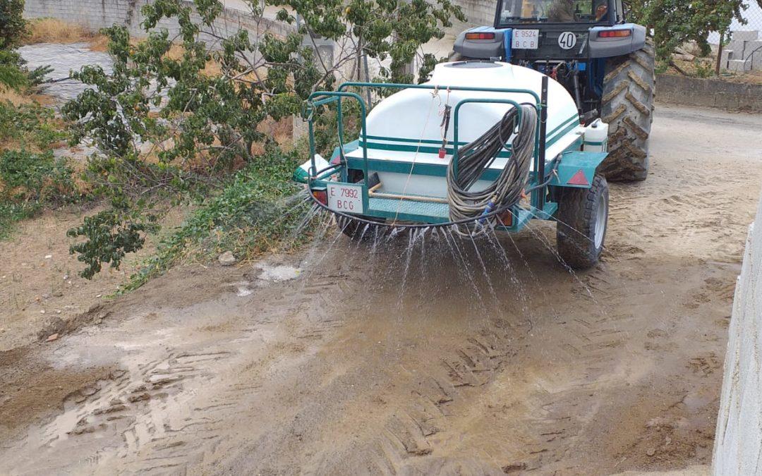 Nueva red de agua hasta Los Chopos