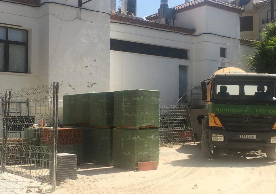 Nuevos aseos para la Carpa Municipal