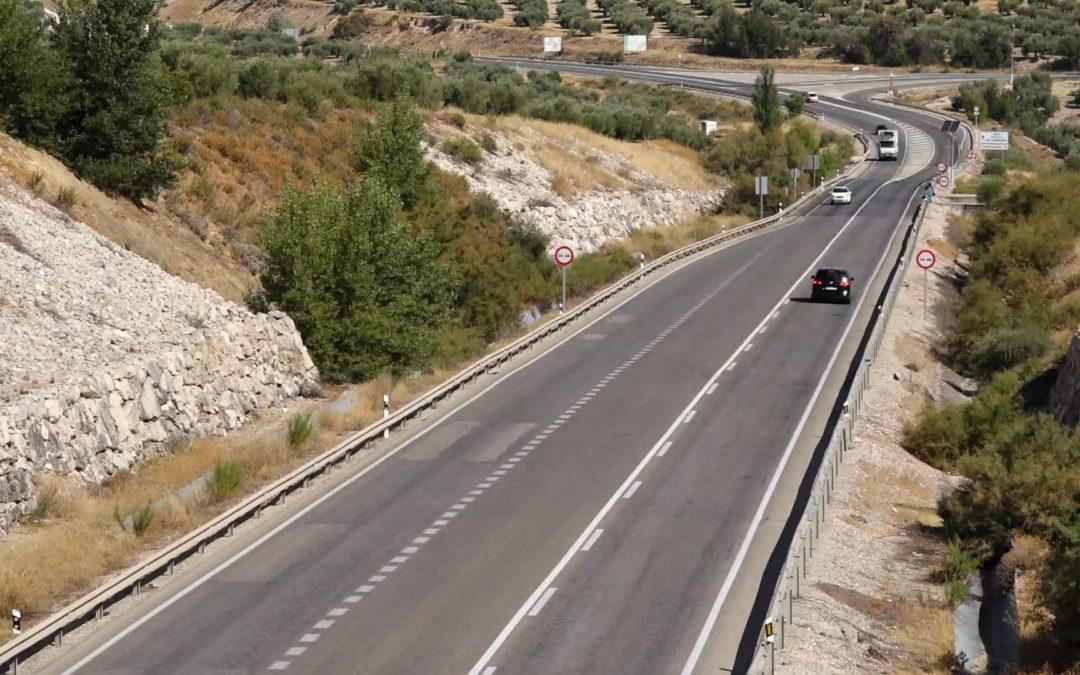 La Junta encarga los proyectos técnicos para el arreglo de la carretera a Jaén por Fuerte del Rey