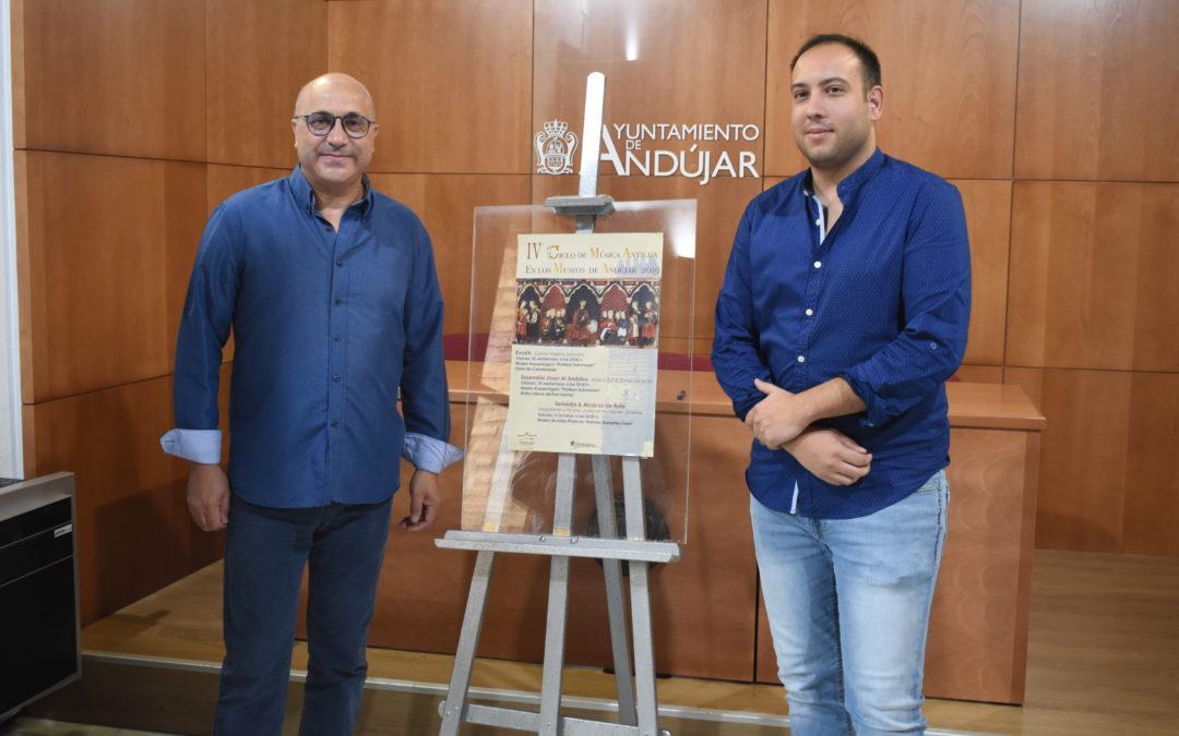 El IV Ciclo de música antigua de Andújar homenajeará el cruce de culturas de la ciudad