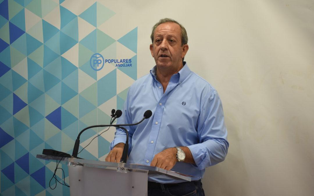 El PP de Andújar valora de forma negativa la feria en honor a San Eufrasio