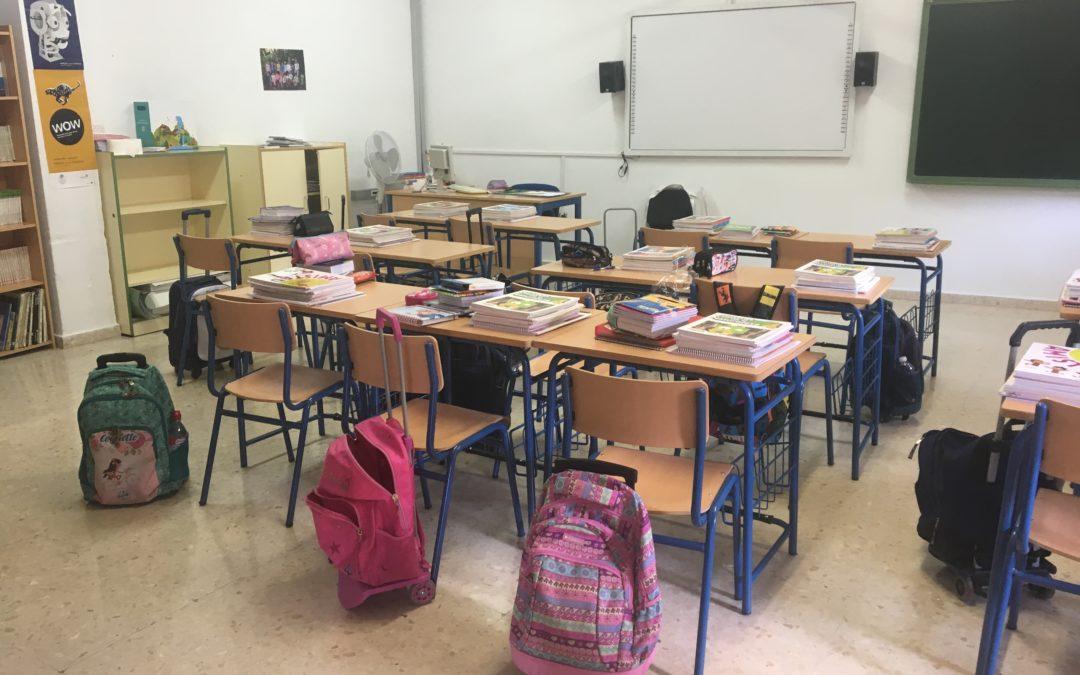 Los escolares de Torredonjimeno vuelven a las aulas