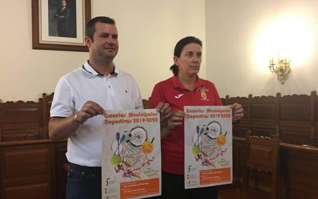 El 1 de octubre comienza la actividad en las Escuelas Municipales Deportivas de Torredonjimeno