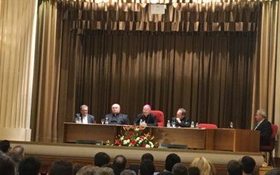El párroco, Enrique Cabezudo recibe un homenaje en la apertura del curso del Seminario de Jaén