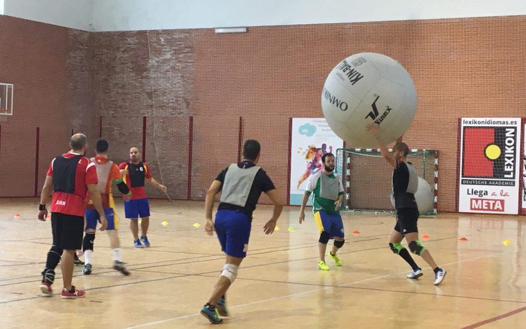 La Selección Española de Kim Ball se concentra en Torredelcampo