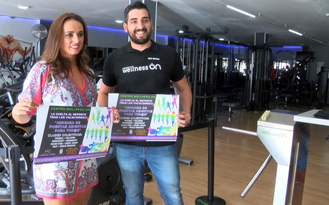 La concejalía de igualdad de Torredelcampo promueve una Jornada de puerta abiertas en el Centro Wellness On