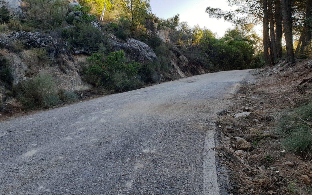 La carretera de San Isidro, abierta al tráfico