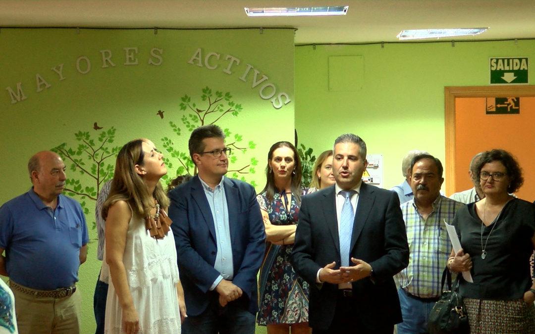 """Antonio Sutil: """"El Centro de Participación Activa de Jamilena es un referente provincial"""""""