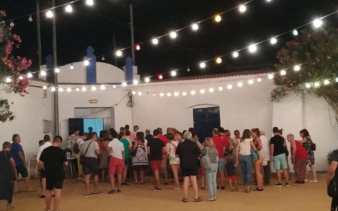 1.274 personas disfrutaron del Cine de Verano en Marmolejo