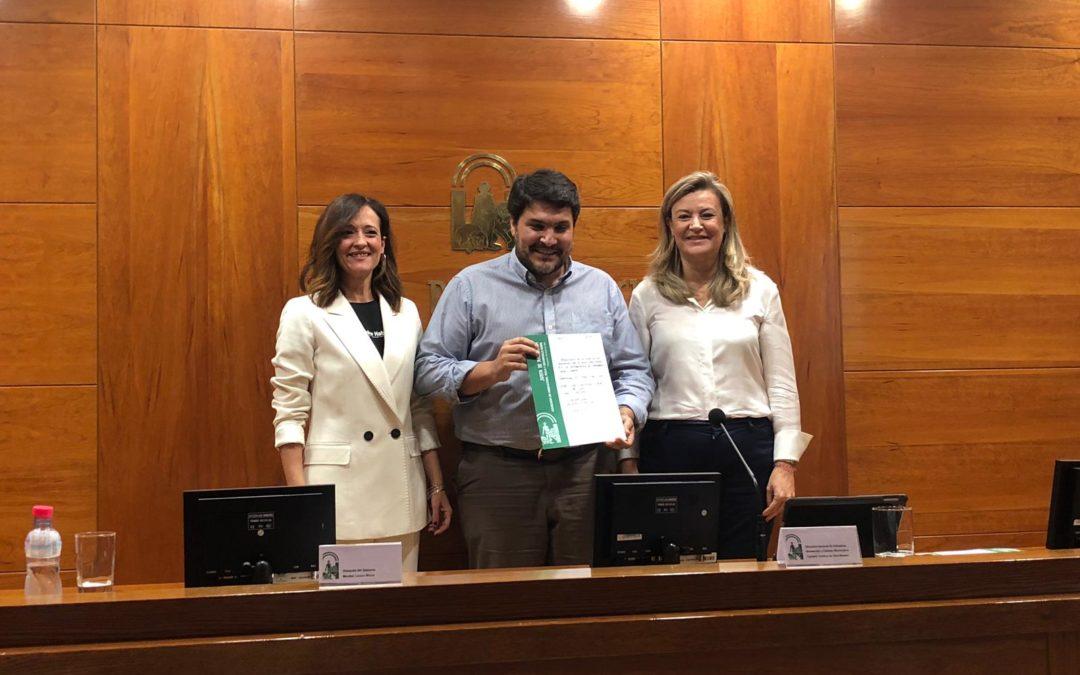Marmolejo recibe una ayuda de 80.000 euros para cambiar el alumbrado de la carretera de la Estación