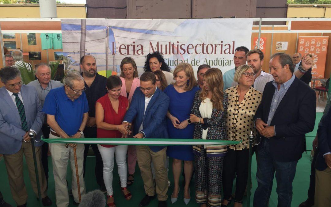 Arranca la IX Feria Multisectorial de Andújar