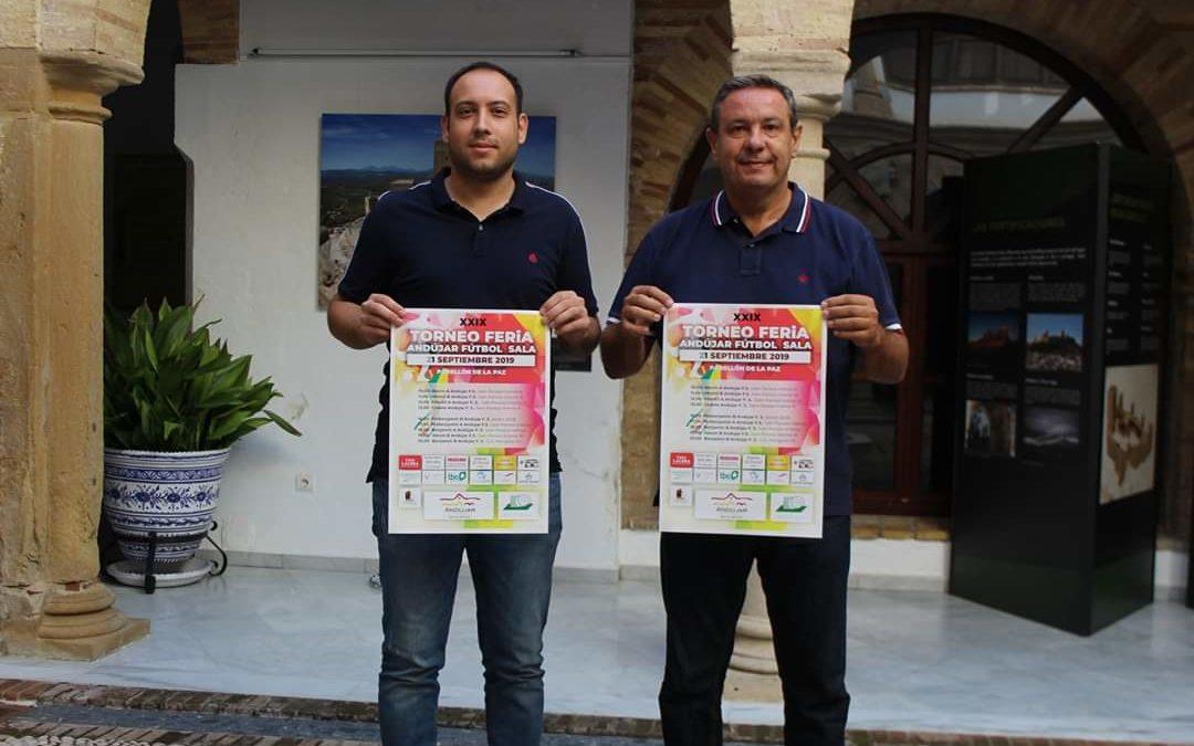 El pabellón de La Paz acoge el XXIX Torneo de Feria de Fútbol Sala