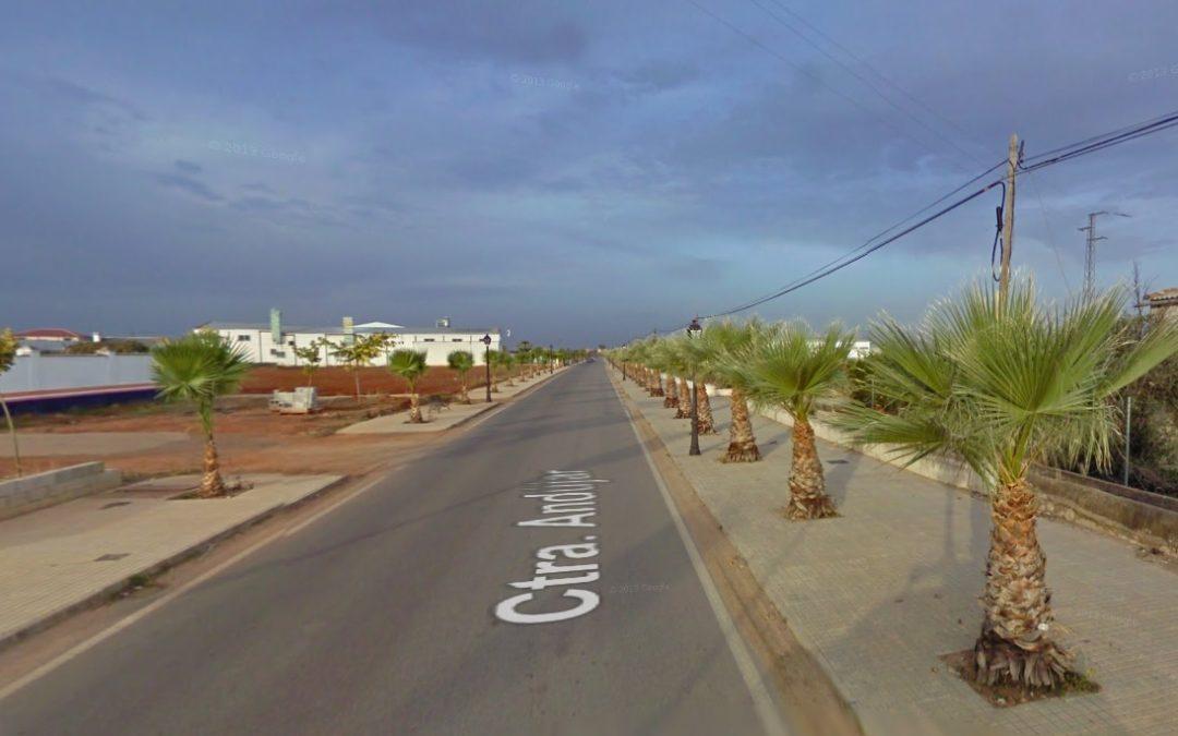Una carretera de Marmolejo dañada por la gota fría será reparada por la Junta