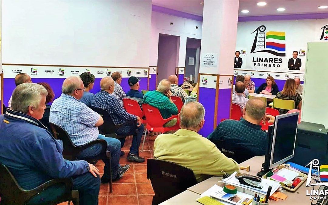 Linares Primero comienza los preparativos de su primer congreso