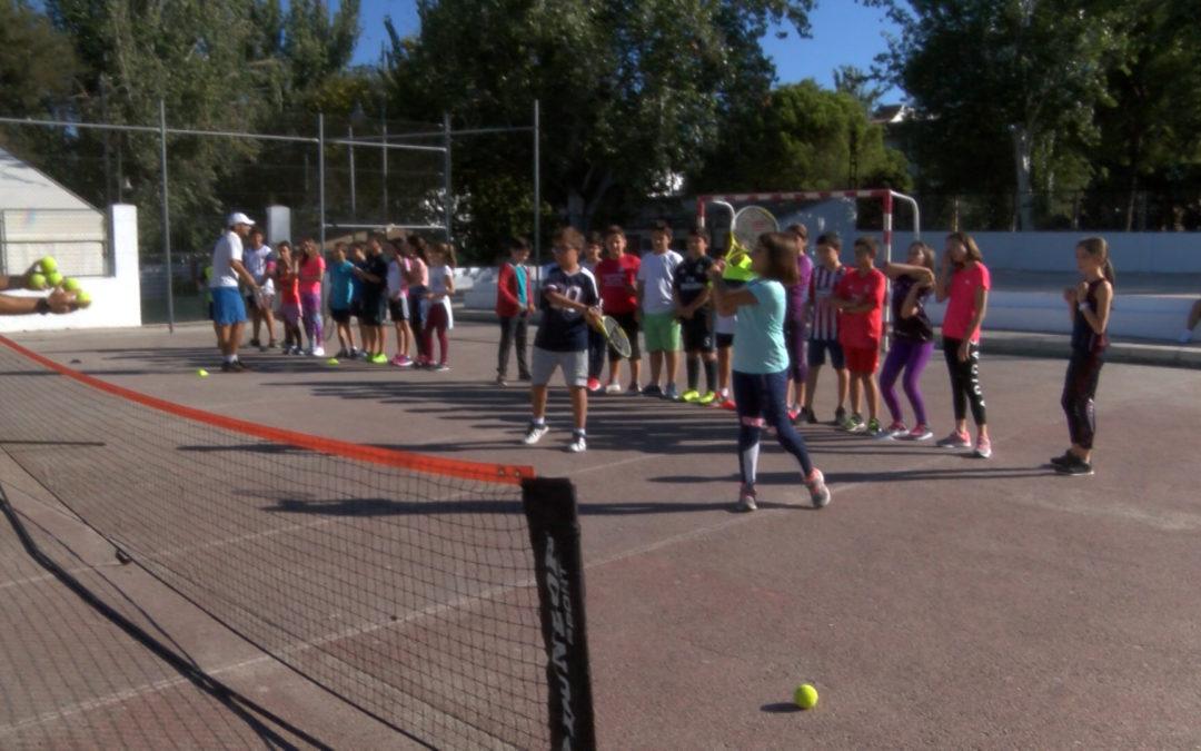 Jornadas de captación en la nueva Escuela Municipal de Tenis