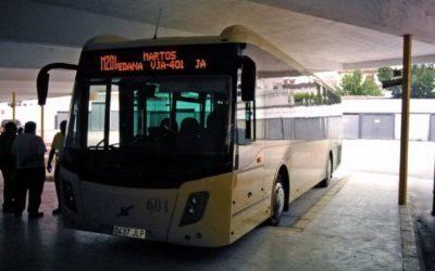 """Adelante pide sanciones por el """"pésimo servicio de autobús entre Martos y Jaén"""" que presta Cambus"""
