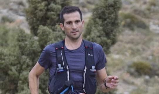 José Antonio Caballero, campeón senior del IV Sierra de Cazorla Trails