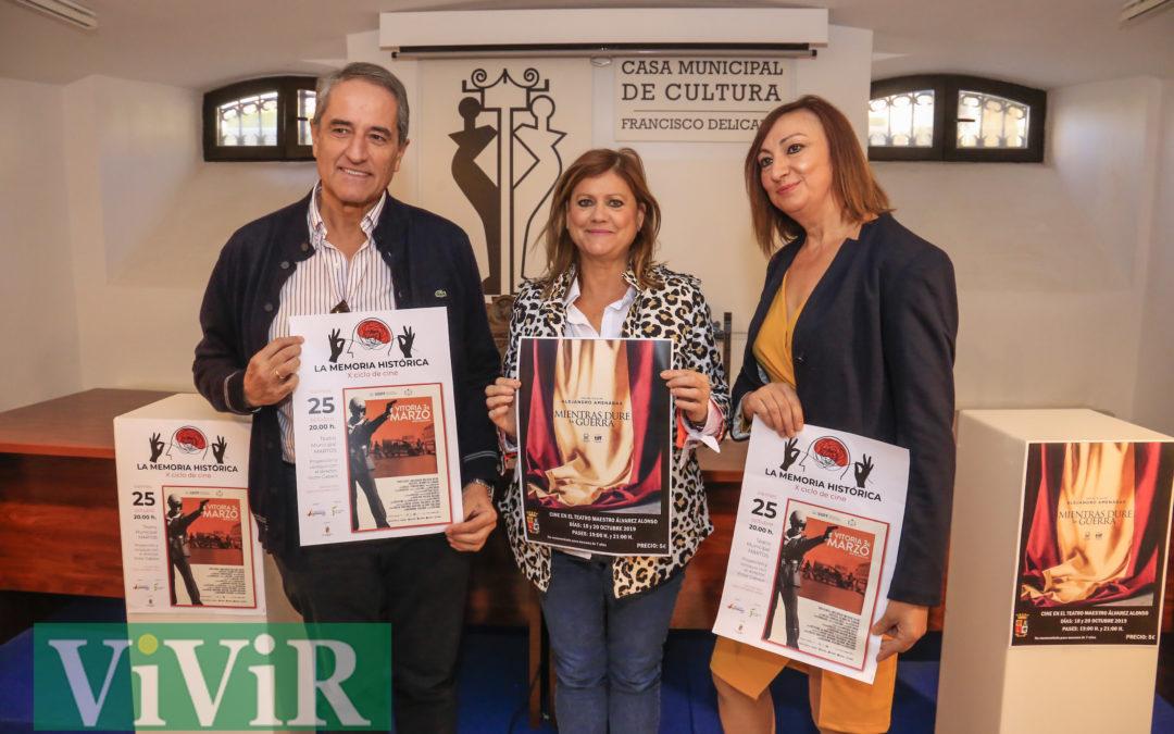 El X Ciclo de Cine y Memoria Histórica llega a Martos