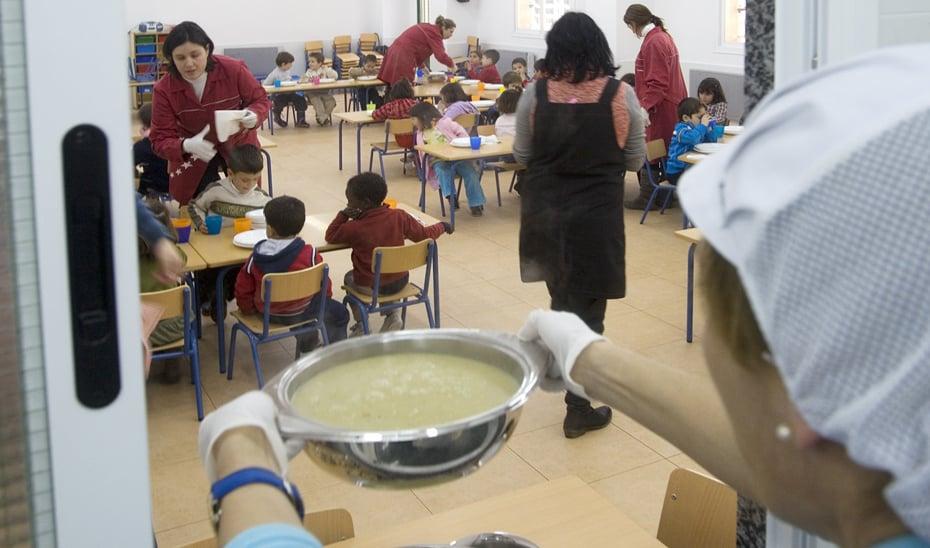 El colegio Juan Pedro se queda sin comedor escolar por la quiebra de Royal Menu