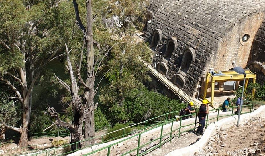 La Central Hidroeléctrica del Jándula acoge mañana un simulacro de incendio con dos heridos