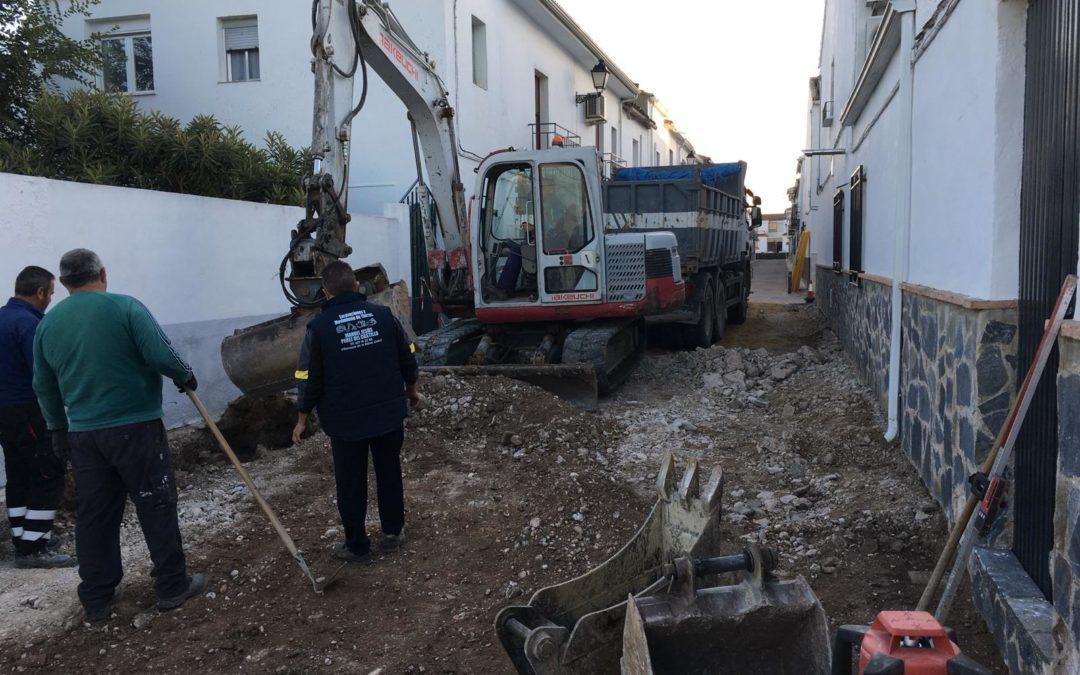 La calle Guadalquivir contará con un nuevo pavimento