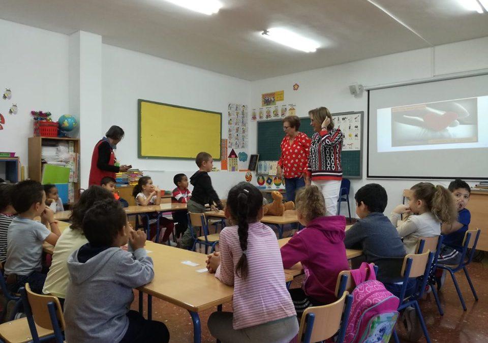 Los escolares de Martos se instruyen en Reanimación Cardio Pulmonar (RCP)