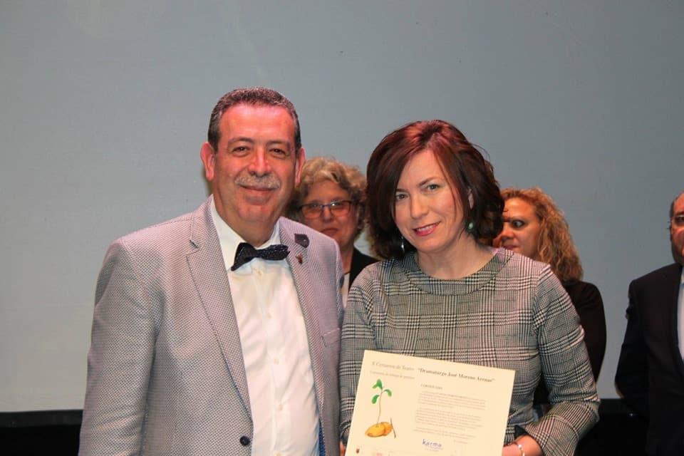 Felisa Moreno cautivó Madrid con su último trabajo