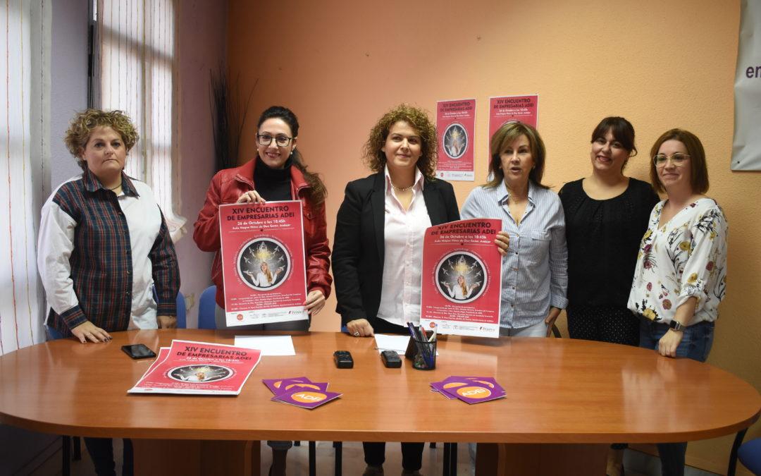 Andújar acoge el XIV Encuentro de mujeres empresarias organizado por ADEI